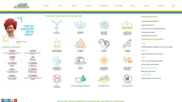 Jain Irrigation Systems Ltd