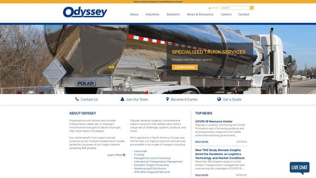 Odyssey Logistics & Technology Corporation