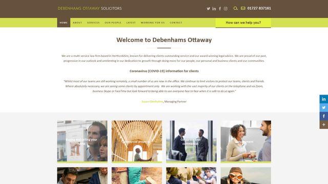 Debenhams Ottaway LLP
