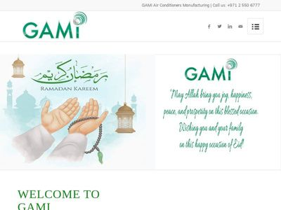 GAMI AIR CONDITIONERS MANUFACTURING COMPANY