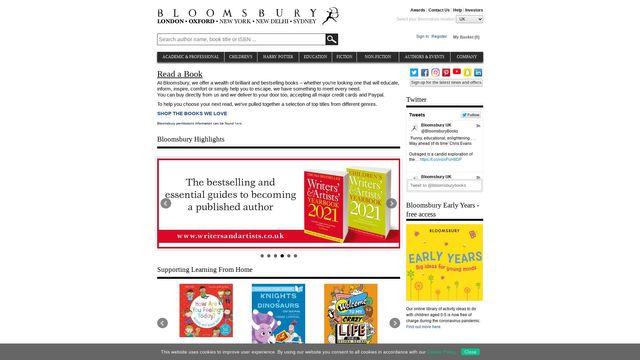 Bloomsbury Publishing Plc