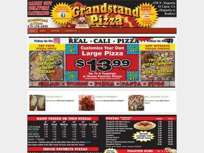 Grandstand Pizza