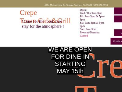 CREPETOWN CAFE