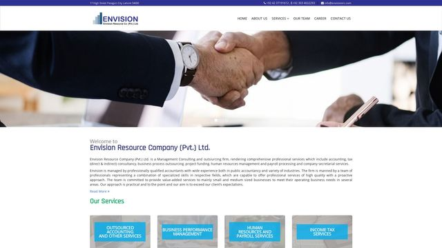 Envision Resource Co Pvt Ltd
