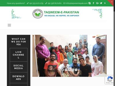 Taqweem e Pakistan Welfare Organization