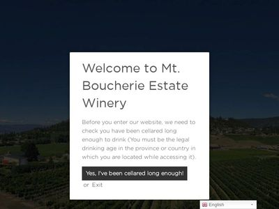 Mt. Boucherie Estate Winery
