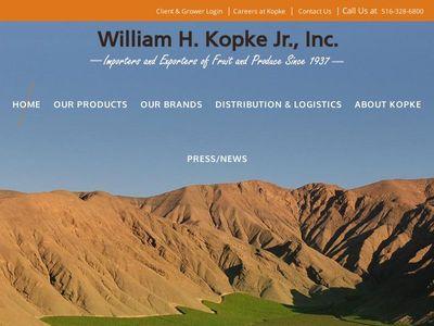 WILLIAM H. KOPKE JR., INC.
