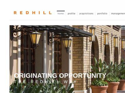 RedHill REALTY INVESTORS, LP