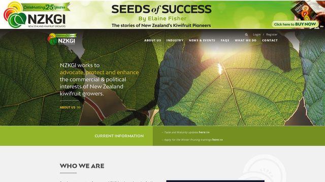 New Zealand Kiwifruit Growers Inc.