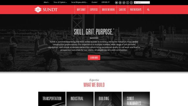 Construction Company & General Contractor | Sundt