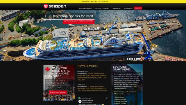 Seaspan Ferries Corporation