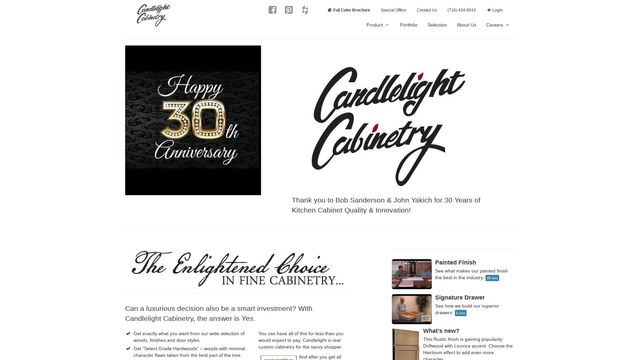 Candlelight Cabinetry, Inc.