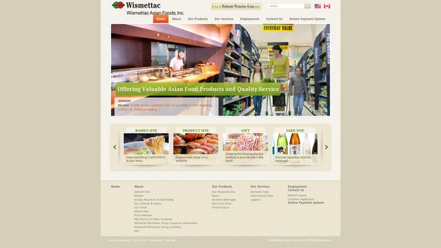 Wismettac Asian Foods, Inc.