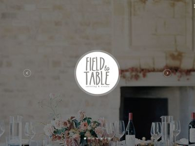 Field to Table Catering & Events