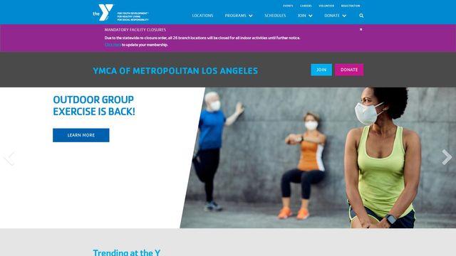 YMCA OF METROPOLITAN LOS ANGELES