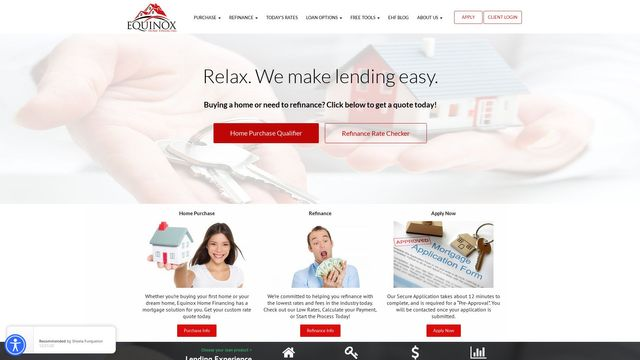 Equinox Home Financing, Inc