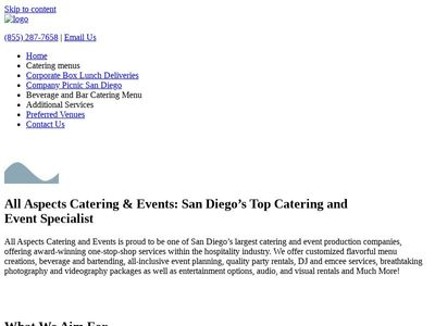 All Aspects Catering & Events
