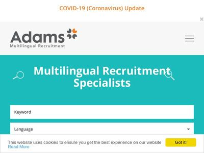 Adams Multilingual Recruitment