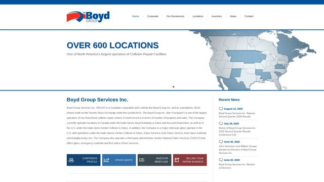 Boyd Group Services Inc.