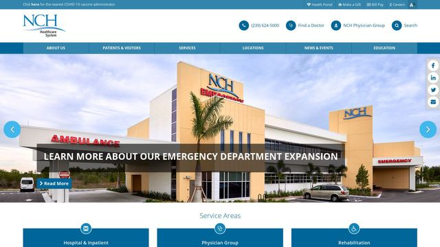 NCH Healthcare System, Inc.;