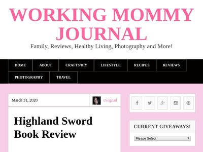 Working Mommy Journal