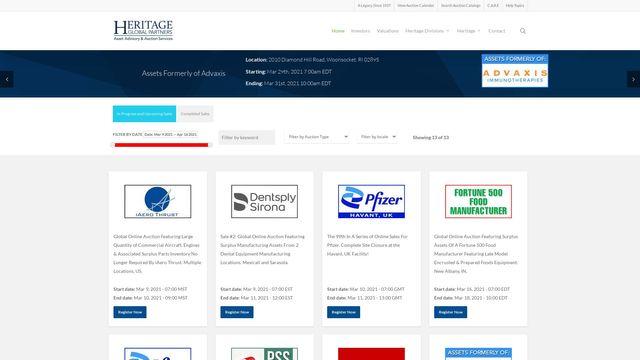 Heritage Global Inc.