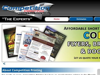 Competition Commercial Printing, Inc.