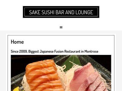 Sake Sushi Bar and Lounge