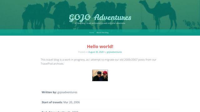 GOJO Adventures