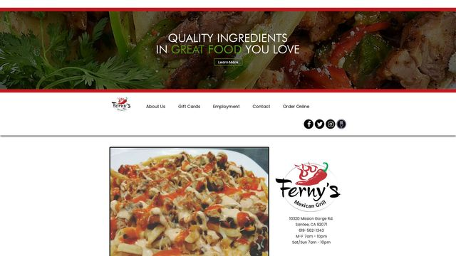Ferny's Mexican