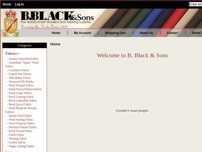 B. Black & Sons Fabrics