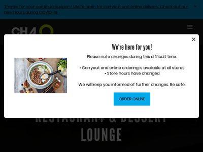 Cha2o Vietnamese Restaurant & Dessert Lounge
