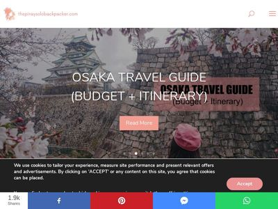 The Pinay Solo Backpacker Itinerary Blog