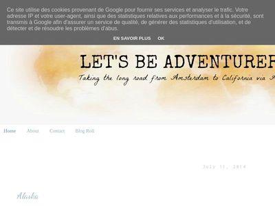 Let's Be Adventurers: