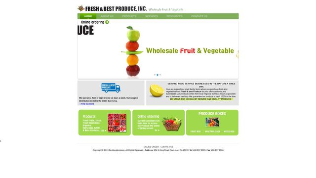 Fresh & Best Produce