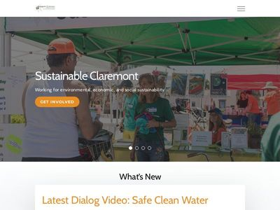 Sustainable Claremont   Sustainable Claremont engages people in education and action to create a more sustainable community – environmentally, socially, and economically — in Claremont, California and beyond.