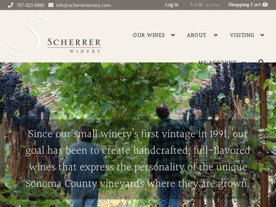 Scherrer Winery