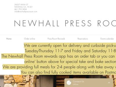 Newhall Press Room Corporation