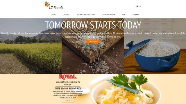 LT FOODS USA LLC