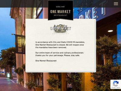 One Market Restaurant