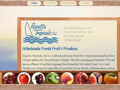 Regatta Tropicals, Ltd.