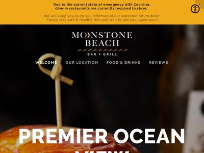 MOONSTONE BEACH BAR & GRILL