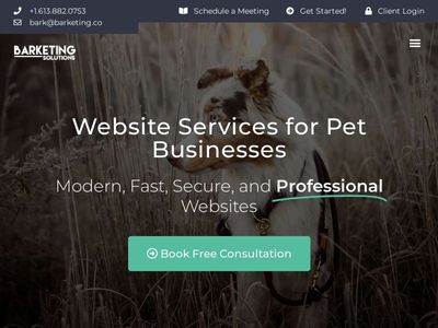 Barketing Solutions Inc.