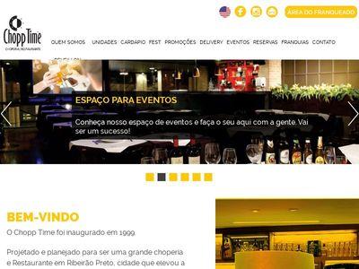 Chopptime :: Choperia & Restaurante - Ribeirão Preto SP