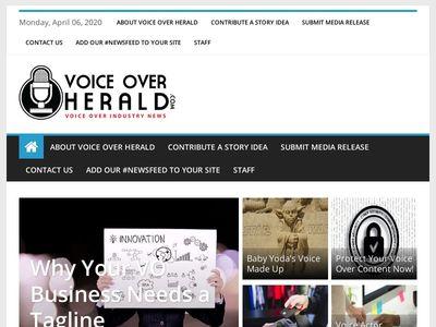 Voice Over Herald