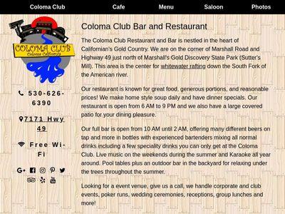 Coloma Club