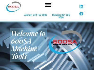 600SA Machine Tools (PTY) Ltd