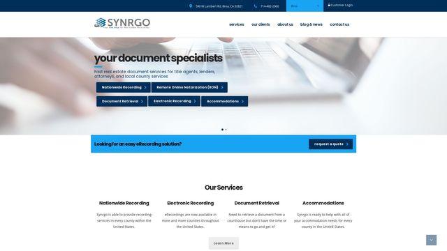 Synrgo, Inc.