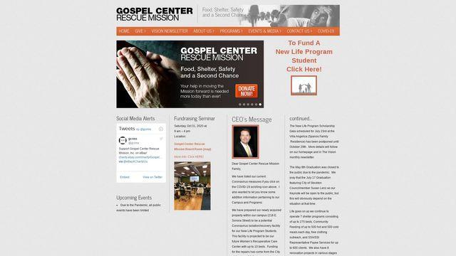 The Gospel Center Rescue Mission, Inc.