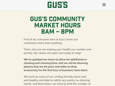 Gus's Community Market